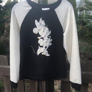 Disney Boutique Minnie Mouse Sweatshirt